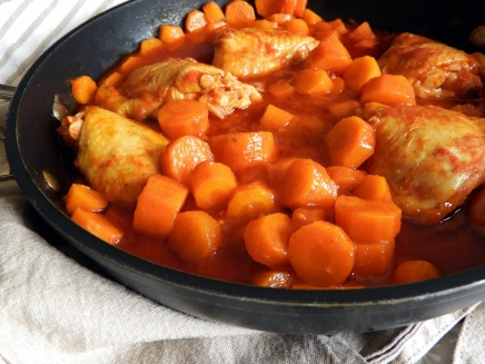poulet tomates carotte1